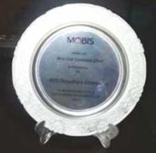 Award from Hyundai